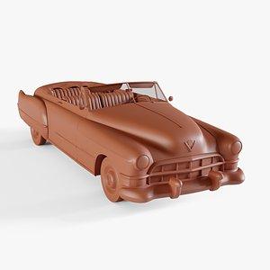 3D 1953 cadillac series 62