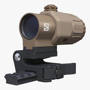 EOTech G33 STS Magnifire 3D model