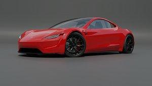 tesla roadster model