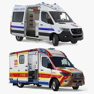 Ambulances Collection model