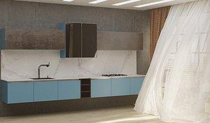 3D model kitchen 05