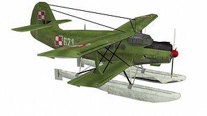 3D aeroplan model