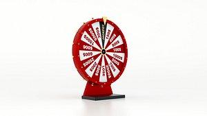 Wheel of Fortune 3D model