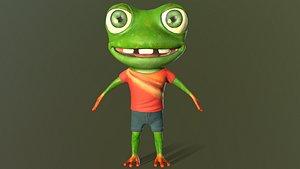 3D model Mr.Cracker Frog