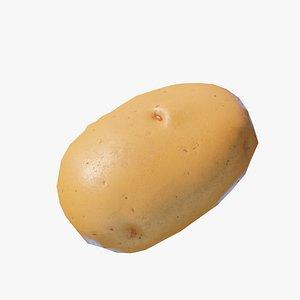 Cartoon Potato 3D