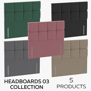 Headboards 03 Collection 3D