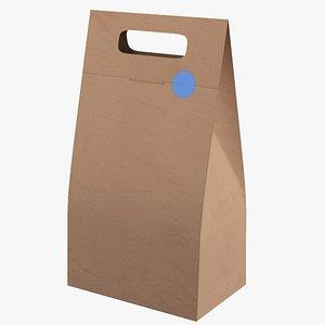 3D model Paper Bag(1)