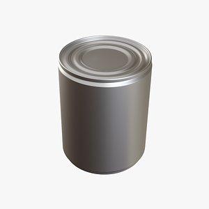 Tin Can 6 3D model