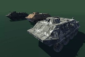armoured carrier model