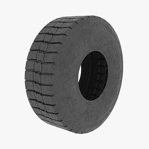 tire vehicle 3D model