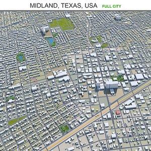 Midland Texas USA 3D model