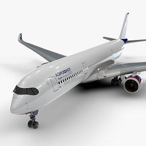 a350-900 aeroflot l1138 3D model
