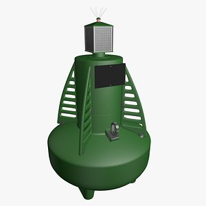 buoy marine 3D model