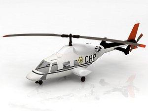 Bell 222 3D