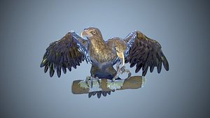 TWO-HEADED EAGLE 3D