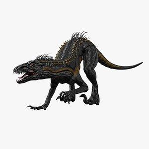 3D Indoraptor - Rigged