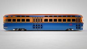 bus vintage 3D model