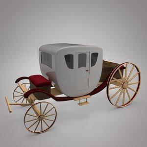 Coach 3D model