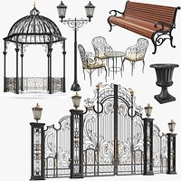 Iron Architectural Elements Collection