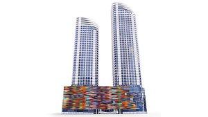 3D model Building Brickell Heights Condo Miami