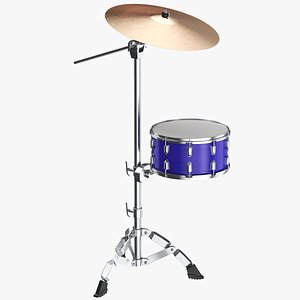 3D Cymbal With Drum