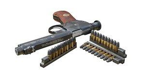 ammo magazine 1907 roth 3D model