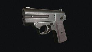 3D MSP soviet derringer model