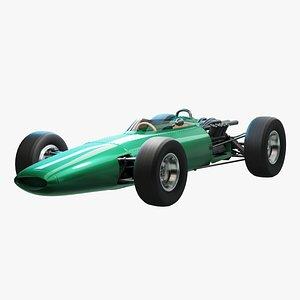 car classic formula 3D model