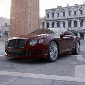 Bentley ContinentalGT 2015 model