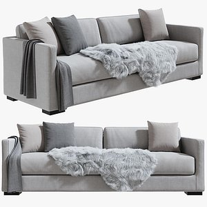 3D Belmon Sofa Meridiani 240 cm