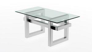 Glass table Atlant-3 model