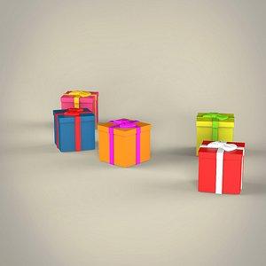 Present Box 3D