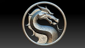 3D Mortal Kombat amulets