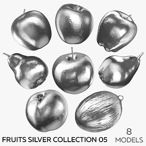 Fruits Silver Collection 05 - 8 models model