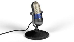 microphone music 3D model