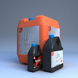 oil plastic 3D model