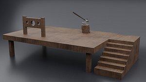 Hangman Board 3D model