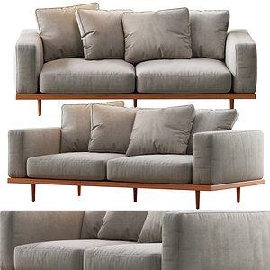 newport sofa 84 3D model