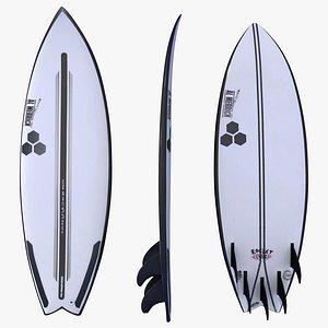 3D Surfboard Al Merrick