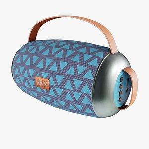 3D model Bluetooth Speaker