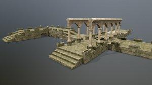 Altar Set 3D