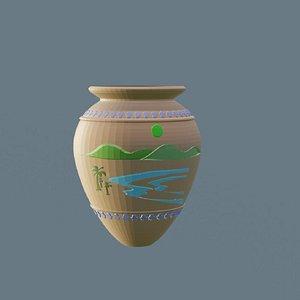 3D printable decorated jar
