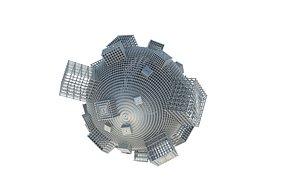 3D model Scifi Ball