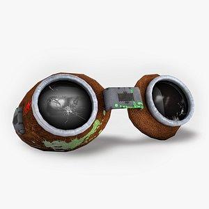 3D goggles model