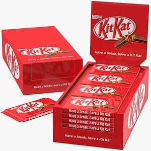 kit kat kitkat 3D model