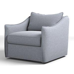 3D joli swivel chair model