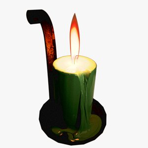 3D model Simple Candle