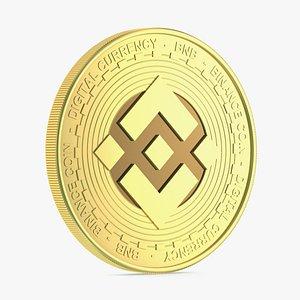 3D Binance Coin