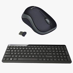 3D office mouse model