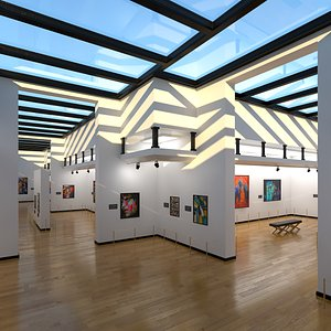 Art Gallery model